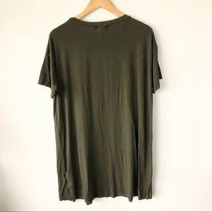 silence + noise Dresses - 🌸(4/$25) Silence + Noise • Green T-Shirt Dress